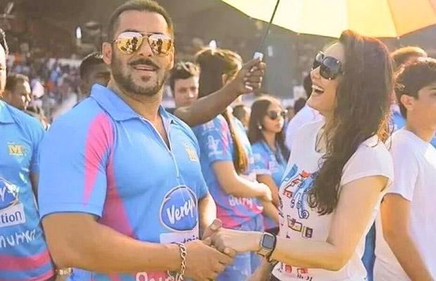 Salman Khan Steals The Show Once Again At Ccl Diya Tv