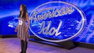 Sonika Vaid performs on American Idol