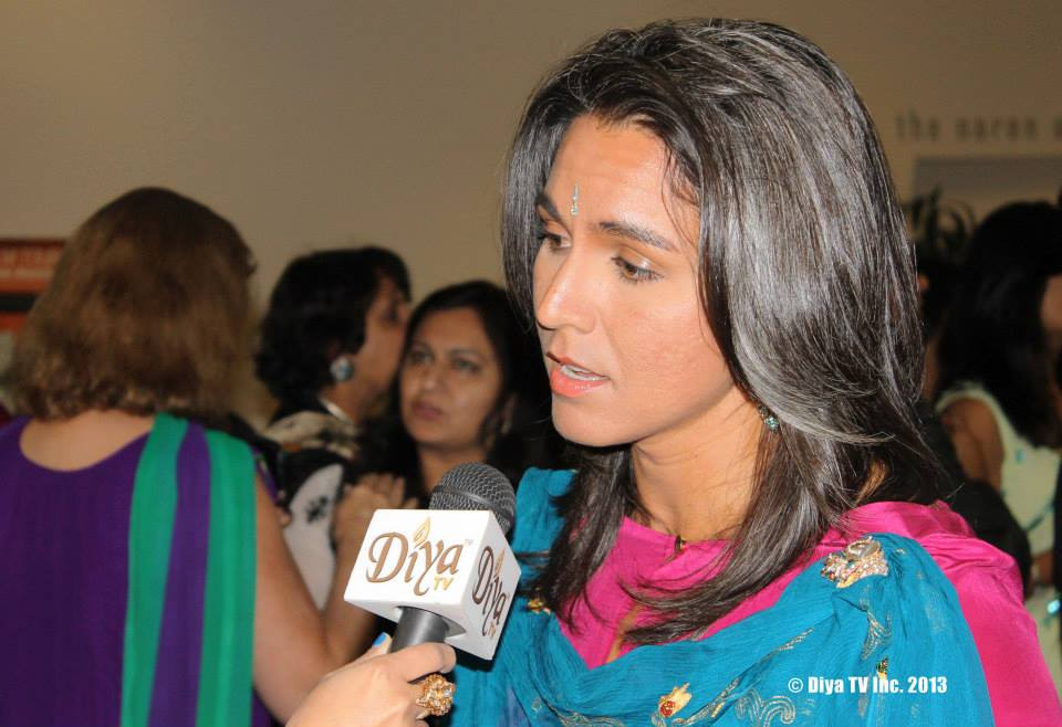Rep Tulsi Gabbard Diya TV HAF 2013