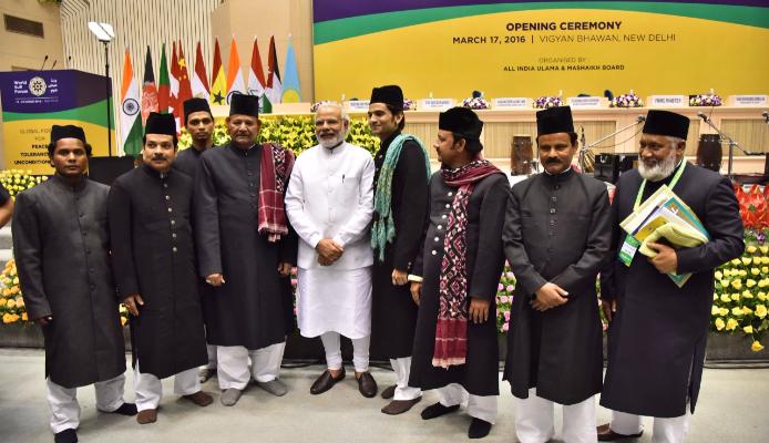 Indian Prime Minister Narendra Modi at World Sufi Forum