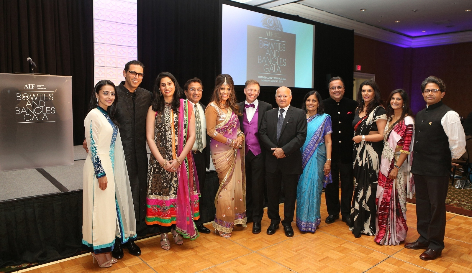 An image of guests at the AIF's second annual gala last year