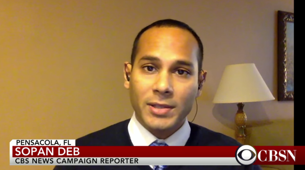 CBS News reporter Sopan Deb was detained Friday night in Chicago. CBSN