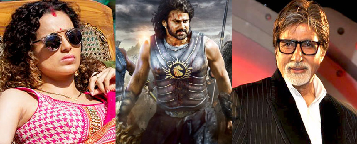 Bahubali, Kangana Ranaut & the Big B win National Award