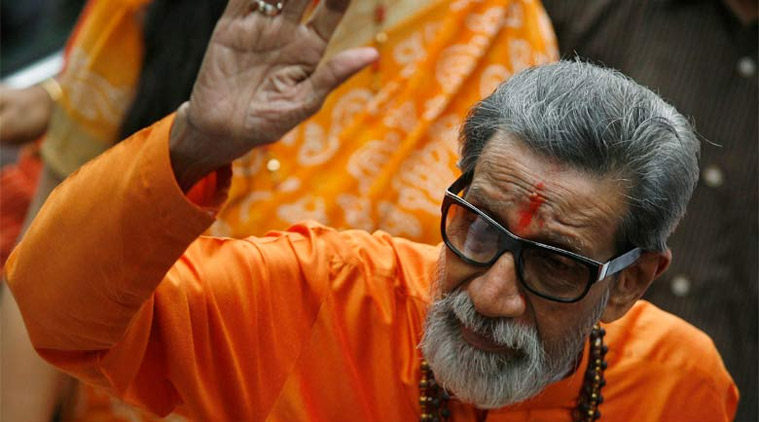 Late Shiv Sena chief Bal Thackeray.