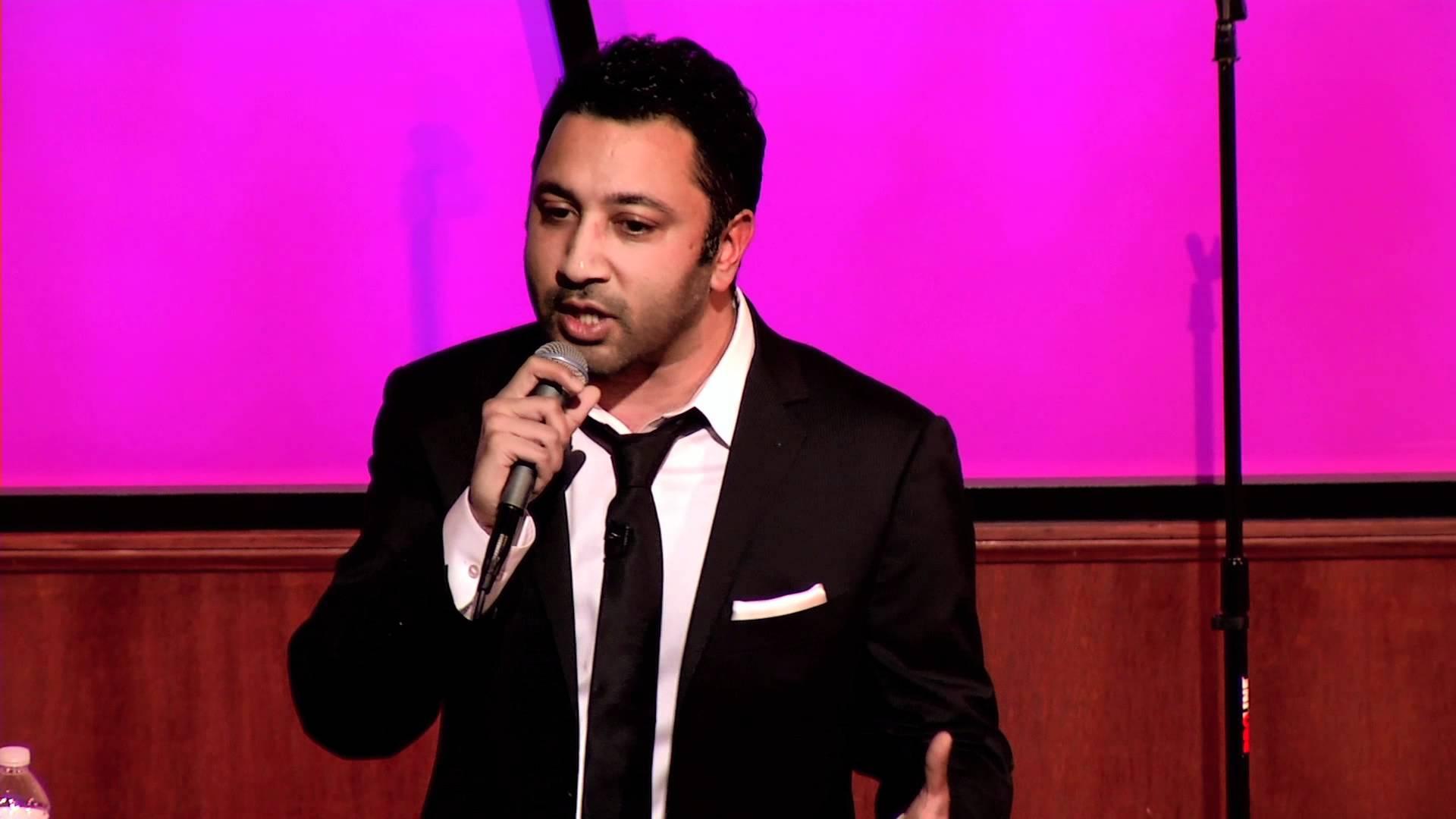 Comedian Anish Shah