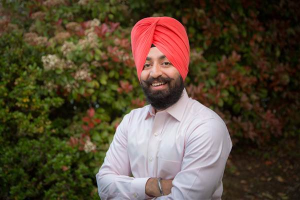 Specialist Harpal Singh, U.S. Army's MAVNI program, seeks to serve in the U.S. military while also being allowed to practice his religion. Courtesy of The Sikh Coalition