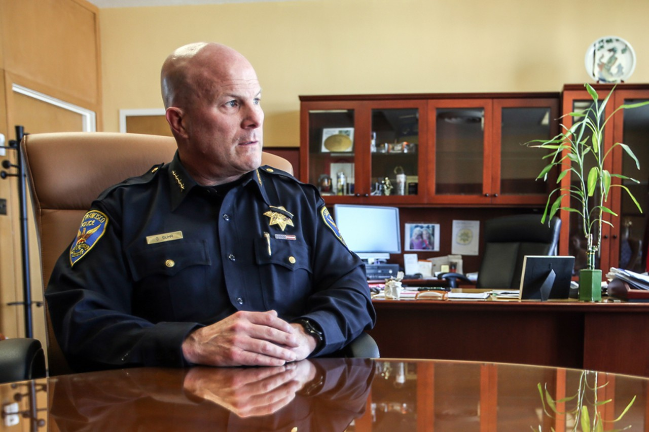 San Francisco Police Chief Greg Suhr