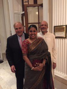 Governor Ed Rendell with MR Rangaswami at Indiaspora 2016