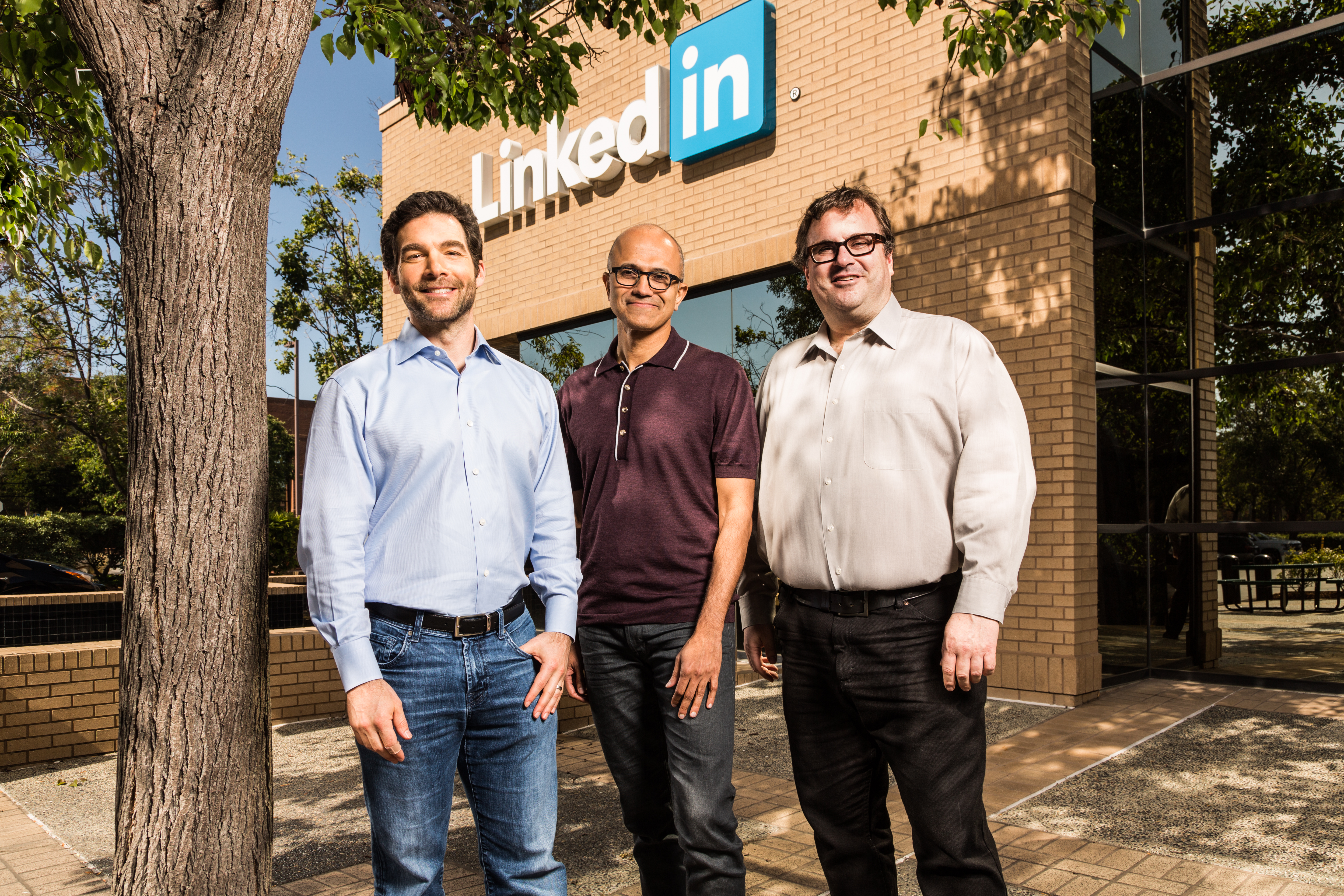 Microsoft Corp. and LinkedIn Corporation on Monday announced they have entered into a definitive agreement under which Microsoft will acquire LinkedIn for $196 per share in an all-cash transaction valued at $26.2 billion, inclusive of LinkedIn's net cash. LinkedIn will retain its distinct brand, culture and independence. Jeff Weiner will remain CEO of LinkedIn, reporting to Satya Nadella, CEO of Microsoft. Reid Hoffman, chairman of the board, co-founder and controlling shareholder of LinkedIn, and Weiner both fully support this transaction. The transaction is expected to close this calendar year.