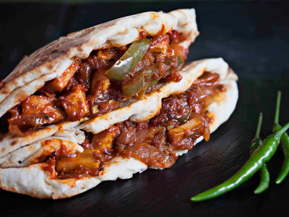 Gill's Chile-Paneer Roll