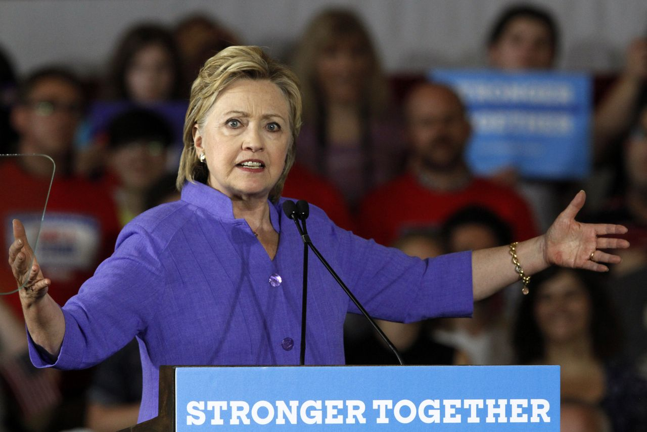 """Hillary Clinton would like to make her """"staple"""" program for green cards a reality."""