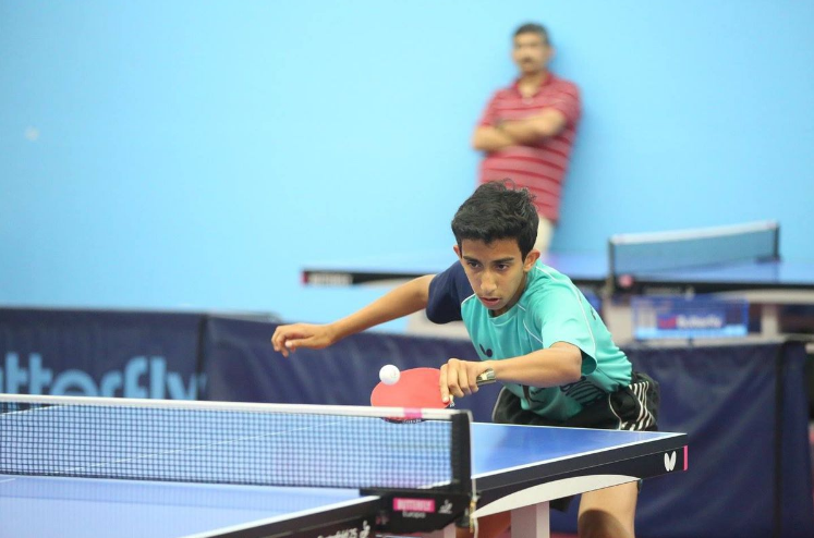 Nikhil Kumar entered and left China as the No. 1 seed.
