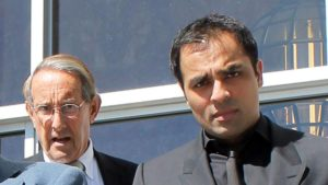Gurbaksh Chahal in court during sentencing by Judge Tracie Brown