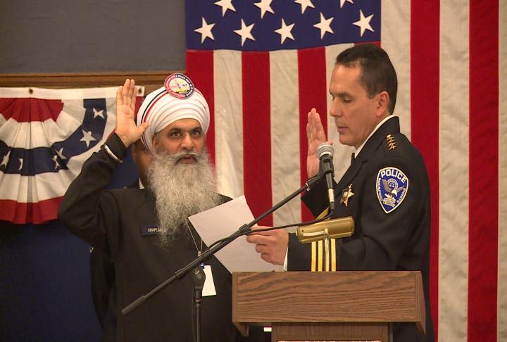 Sikh chaplain