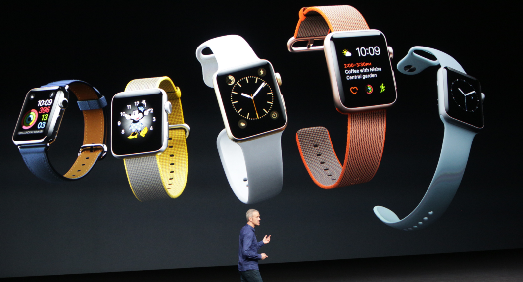 Apple introduced its new series of the Apple Watch Wednesday during their traditional September press conference.