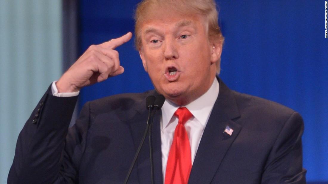 Republican presidential nominee Donald Trump.