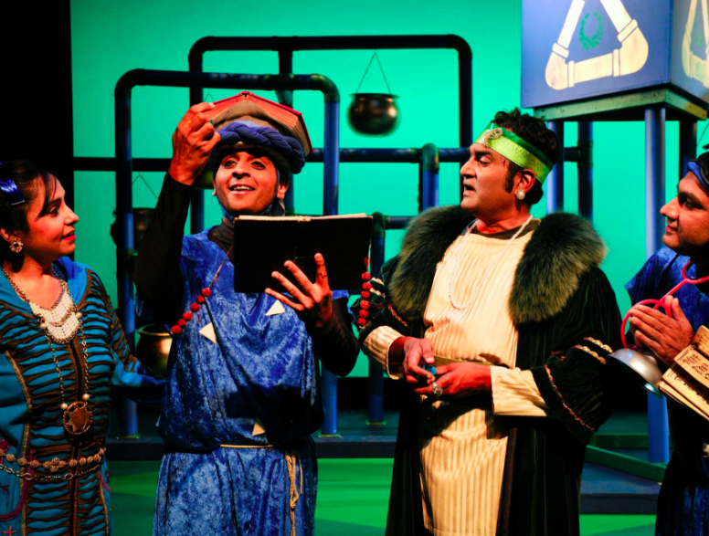 The Naatak Theater Company have received a $10,000 grant from the Knight Foundation for a new production in 2017. Photo Courtesy: Naatak Theater Company