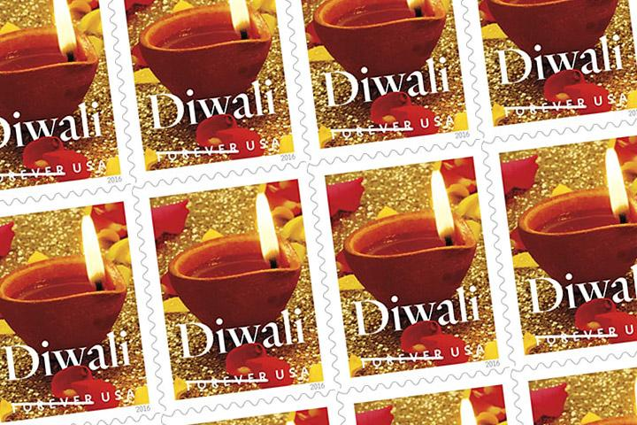 Indian Americans now have their very own stamp paying homage to Diwali.