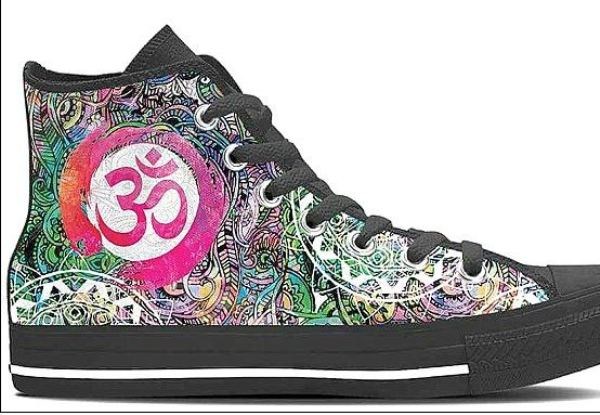 Om Shoes from YesWeVibe.com