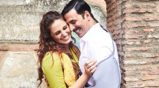Akshay Kumar and Huma Qureshi share screens on Jolly LLB 2