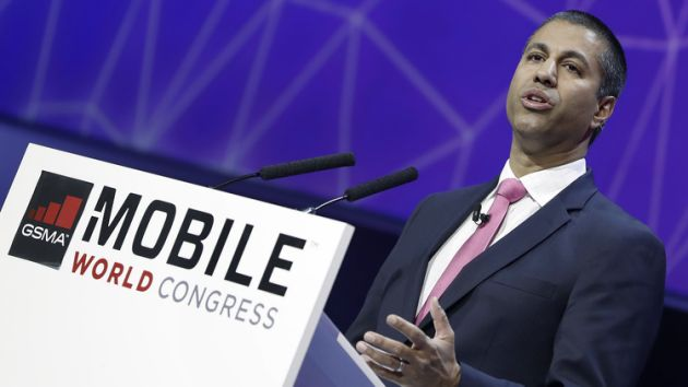 FCC Chairman Ajit Pai at speaking at GSMA in Barcelona