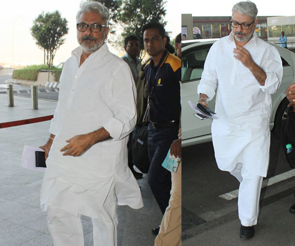 Padmavati Director, Sanjay Leela Bhansali leaves Mumbai at a day before the film release, with police protection
