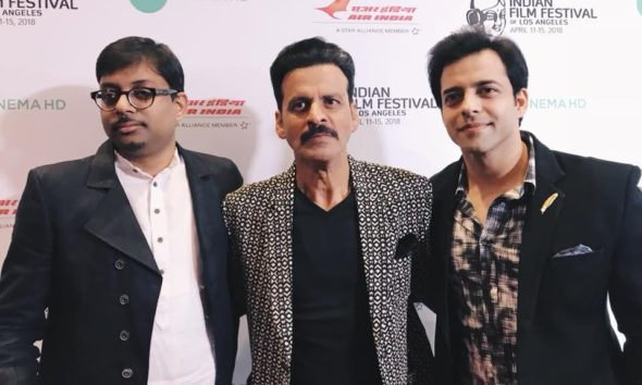 Left to Right: Director Dipesh Jain (In The Shadows), Actor Manoj Bajpayee (In The Shadows)
