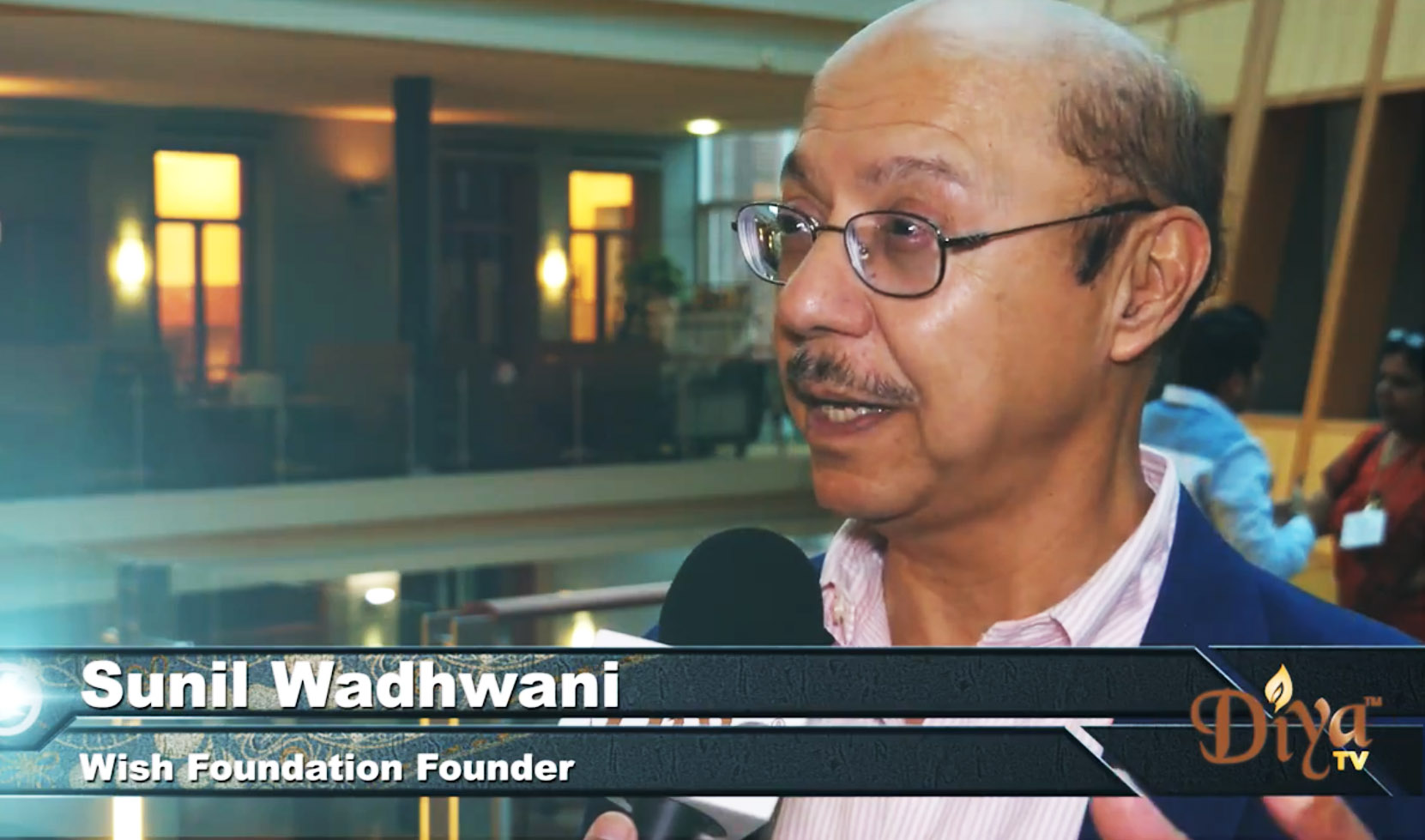 Sunil Wadhwani of Wish Foundation talks to Diya TV about the need for Indian Americans to give back more than just their time and talent.