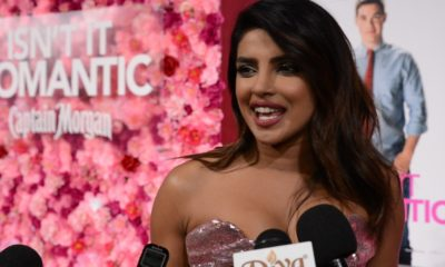 Priyanka on the pink carpet