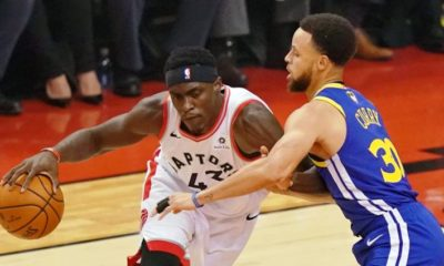 Pascal Siakam scored a playoff career-high 32 point