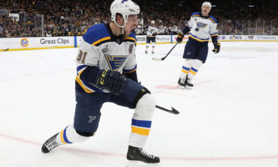 Blues overtime upset