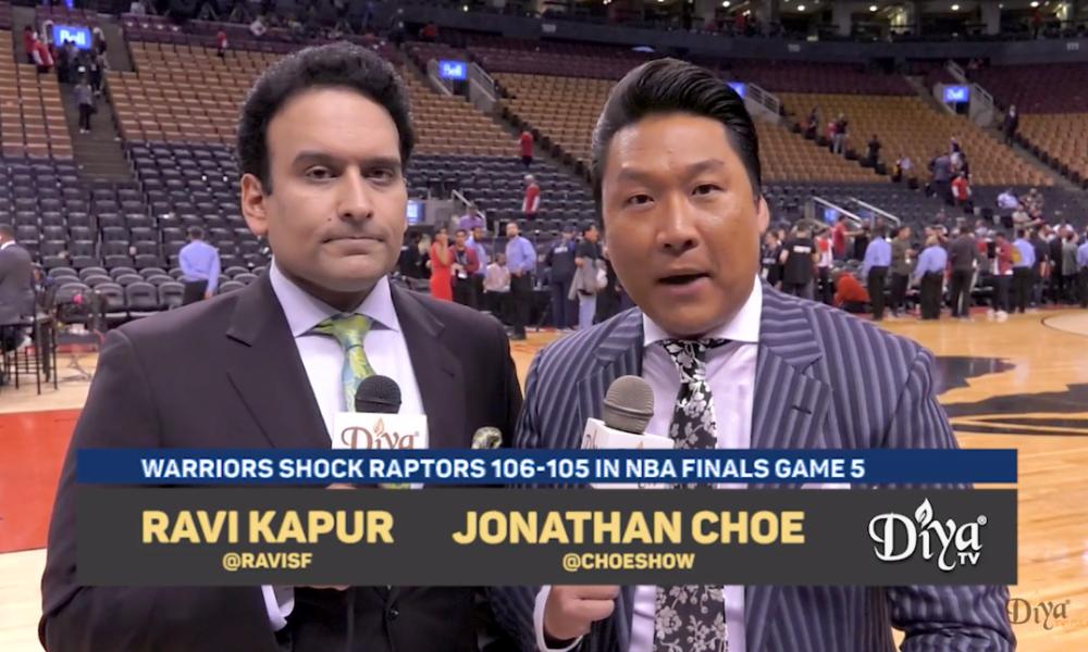 Ravi Kapur and Jonathan Choe courtside analysis of Game 5 in Toronto
