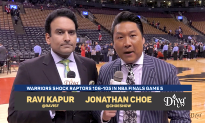 Ravi Kapur and Jonathan Choe courtside analysis of Game 5 in Toronto