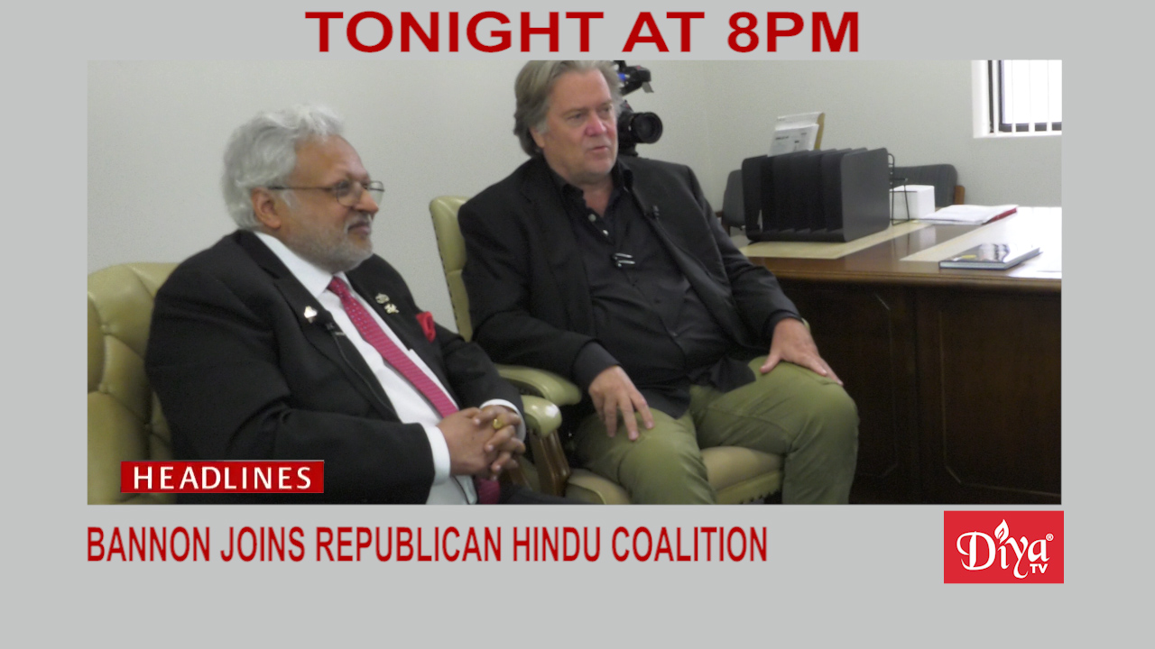 Bannon Republican Hindu Coalition