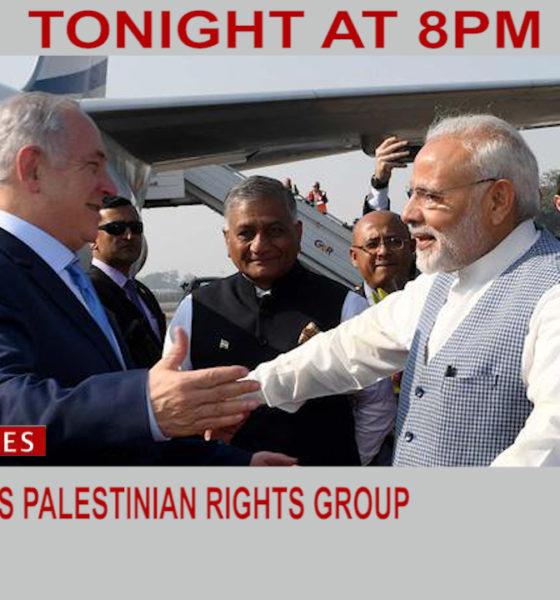 Modi blocks Palestinian Rights