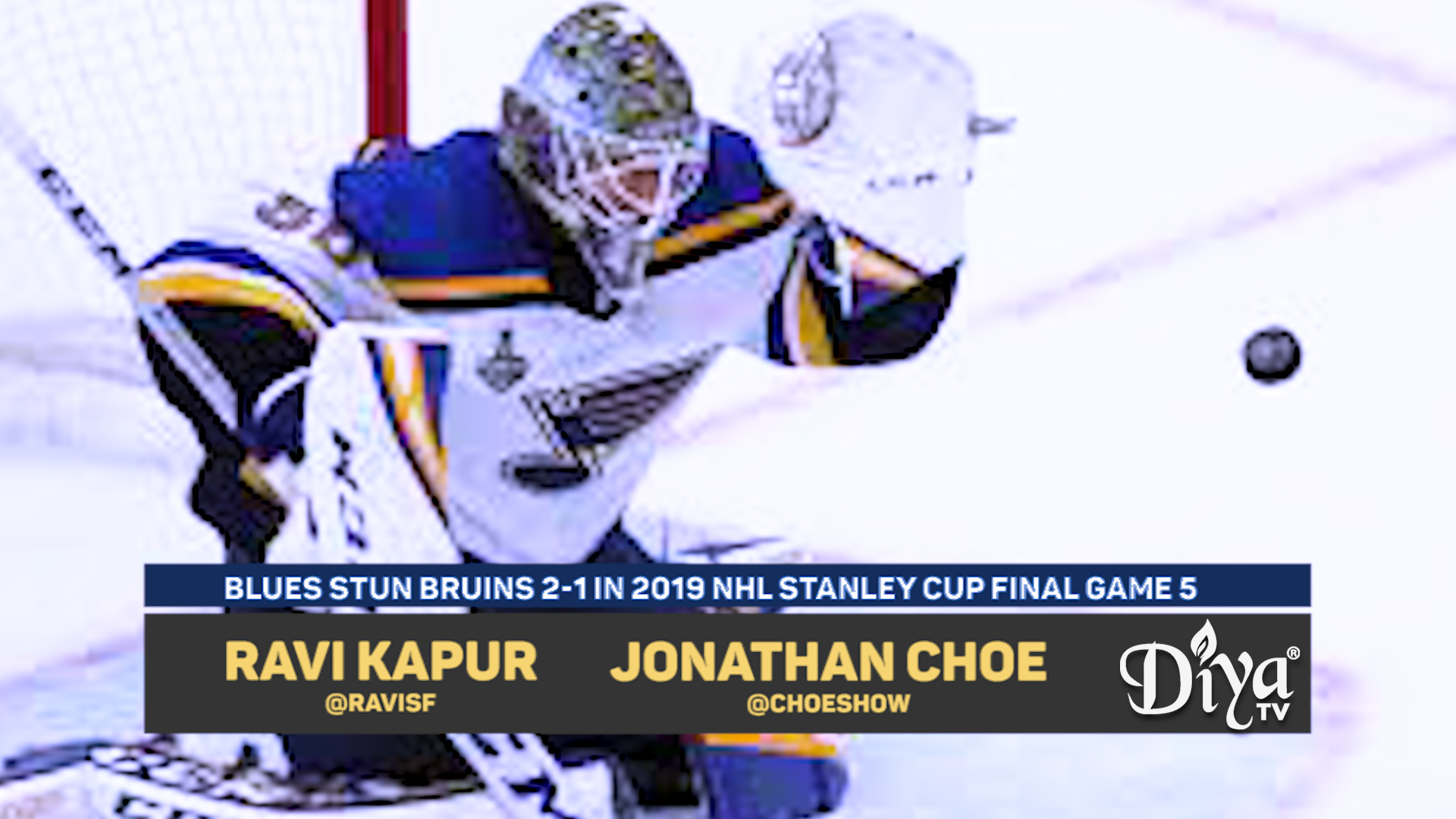 Blues stun Bruins
