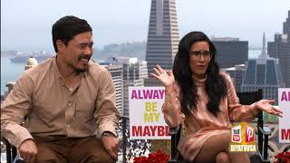 Randall Park & Ali Wong discuss Netflix's latest rom com 'Always be my maybe""