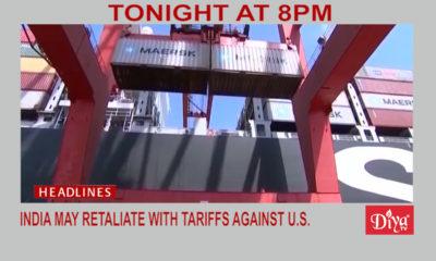 India retaliatory tariffs