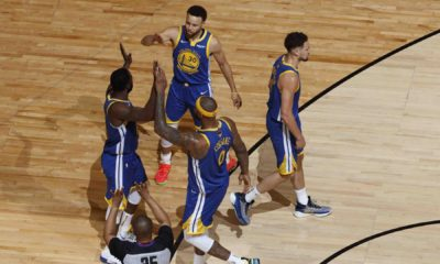 Warriors celebrate game 2 win
