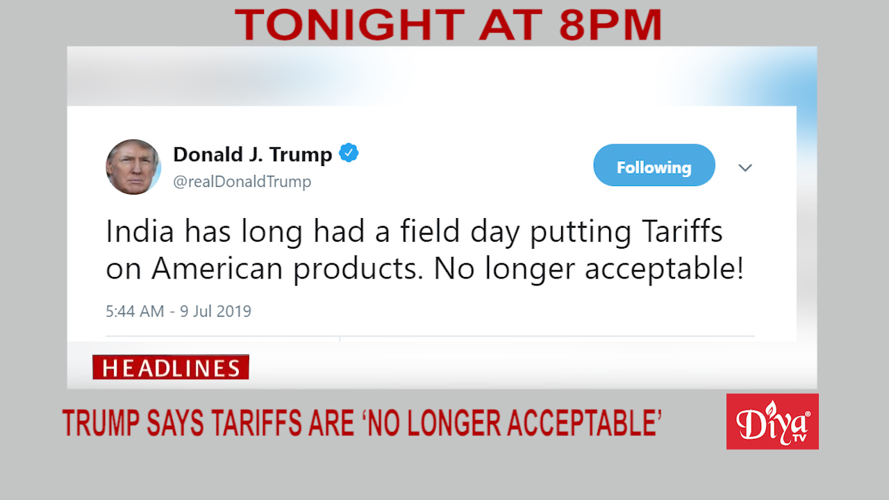 Tariffs no longer acceptable