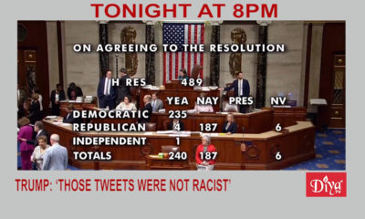Trump tweets Racist