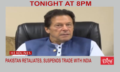 Pakistan retaliates over Kashmir, suspends trade with India | Diya TV News
