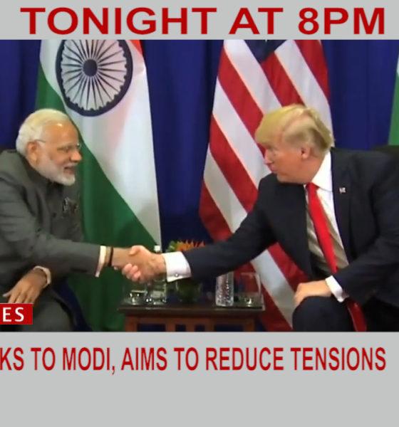 Modi Kashmir Tensions Trump