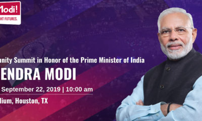 Indian Prime Minister Narendra Modi to speak in Houston