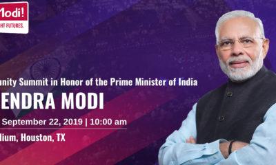 Indian Prime Minister Narendra Modi to speak in Houston