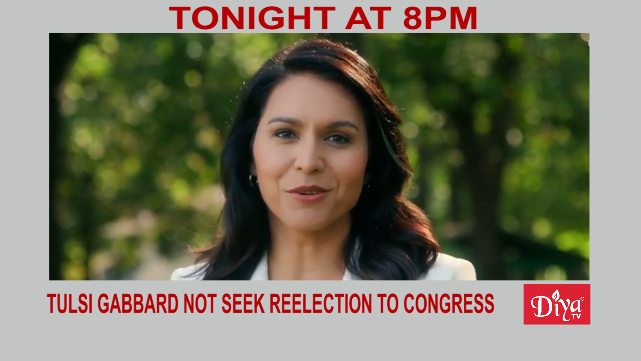 Tulsi Gabbard will not seek reelection to Congress | Diya TV News