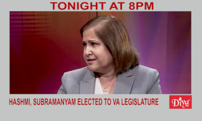 Indian Americans Hashmi, Subramanyam Elected To Va Legislature | Diya TV News