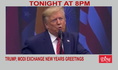 Trump, Modi exchange New Years greetings, discuss Middle East | Diya TV News