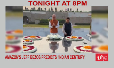 Amazon's Jeff Bezos predicts 'Indian century' | Diya TV News