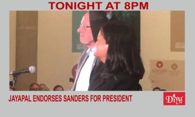 Jayapal endorses Sanders for president | Diya TV News